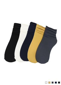 净版纯色短袜