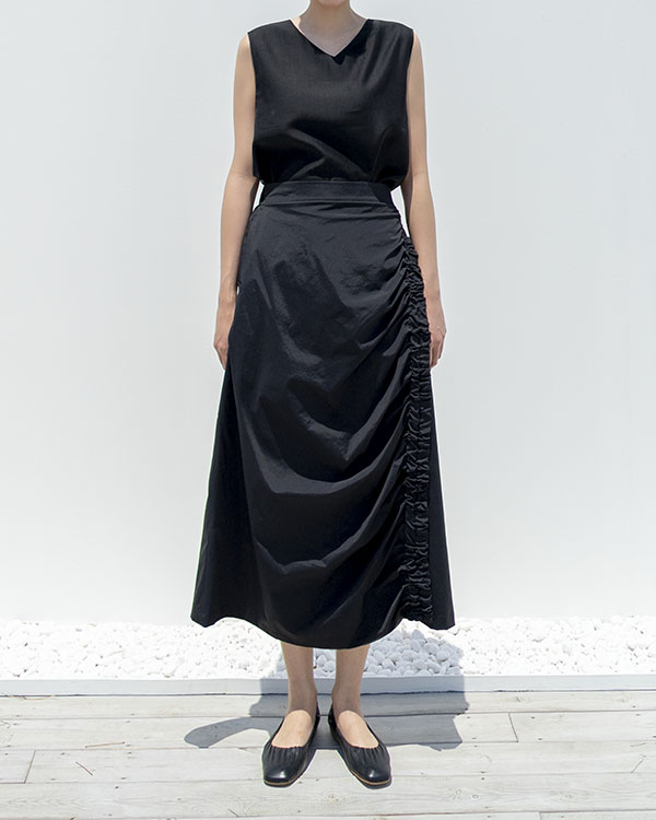 crescent skirt (S SIZE reorder open, 7/26 순차 출고 예정)