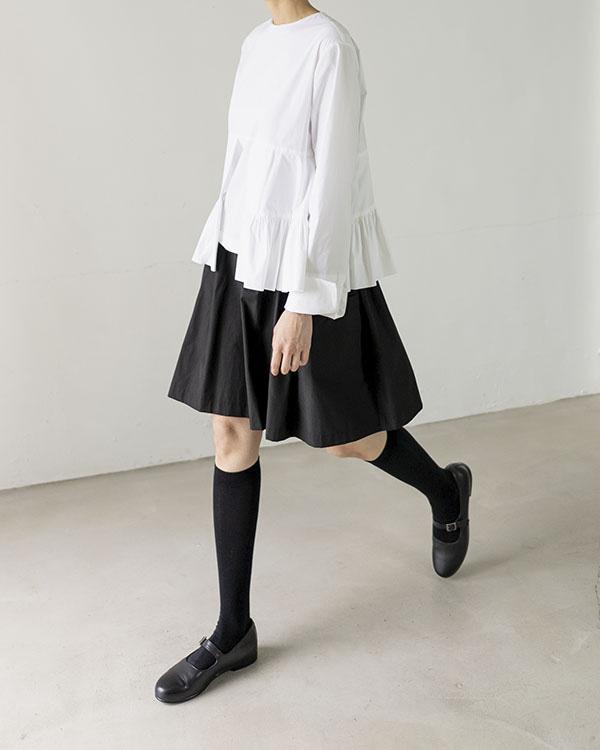 frill layer blouse (open, 단독 주문 시 선발송)