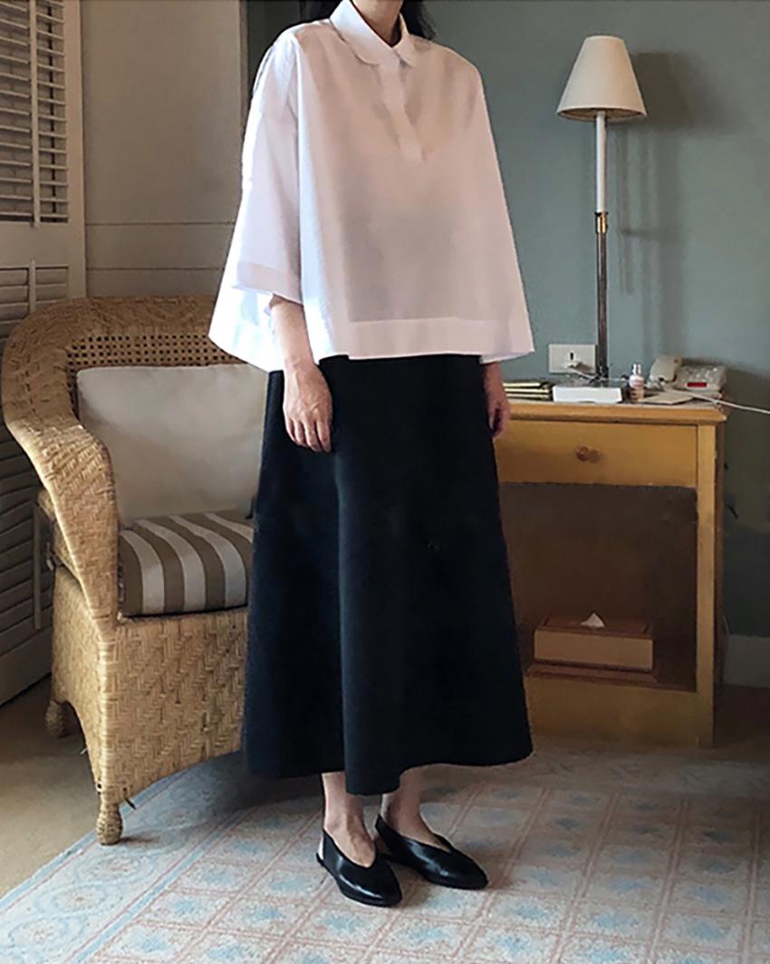 round basic blouse (reorder open, 단독 주문시 선발송)