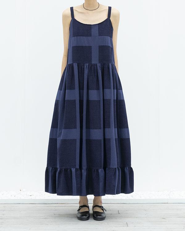 plaid string dress