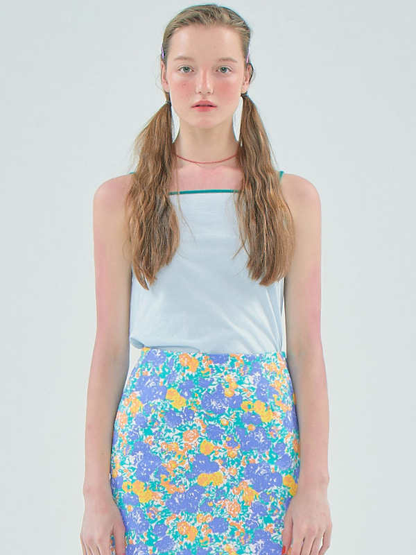 Coloration Sleeveless_Light Blue