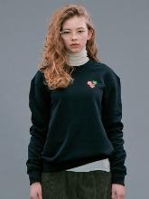 Flower Sweatshirts_Black