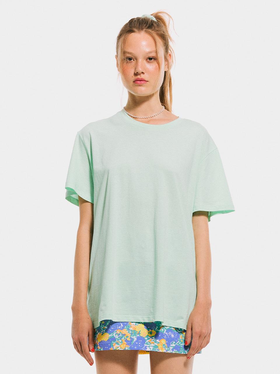 Boxy T shirt_Melon
