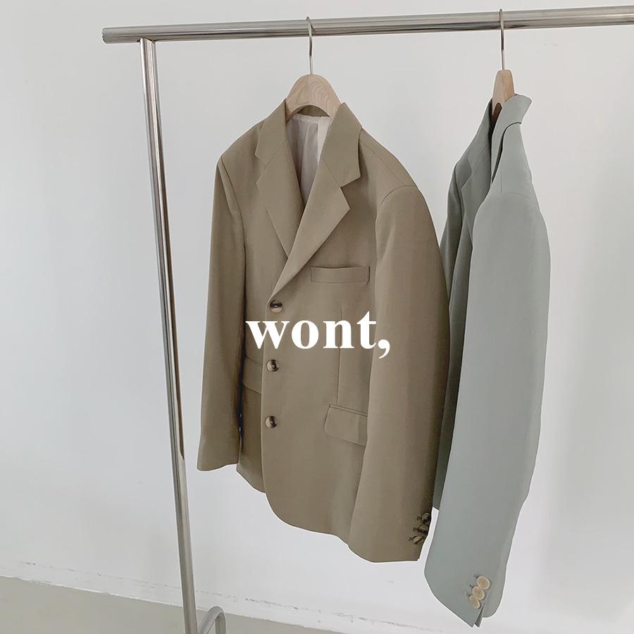 [WONT] 니스 3버튼 자켓