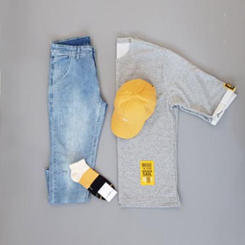 [Set 5% 할인] 옐로우 포인트, 우일신, 남성의류쇼핑몰, 남성티셔츠