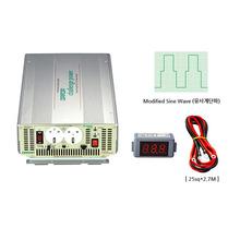 국산 디지털 인버터 DP-3000AQ 최대3000W DC12V AC220V용{밧데리 직접 연결방식}