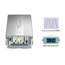 국산 순수정현파 싸인웨이브 인버터 DK1220  최대 2000W / DC 12V to AC 220V