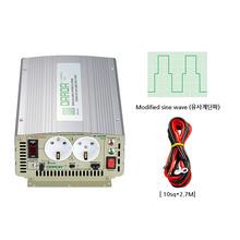 국산 디지털 인버터 DP-16024BQ 최대1600W DC24V 220V {밧데리 직접 연결방식}