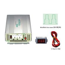 국산 디지털 인버터 DC24V 220V 최대 3500W DP-3000BQ {밧데리 직접 연결방식}