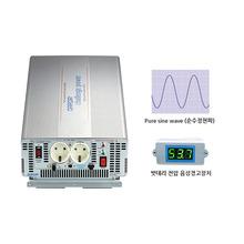 국산 순수정현파 인버터 싸인웨이브 인버터 (Pure Sine Wave) DK4840 태양광 인버터 DC 48V to AC 220V 최대 4000W {밧데리 직접 연결방식}