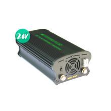 국산 차량용 디지털 인버터 DC24V AC220V 최대 1100W SJ-11024B {밧데리 직결케이블 연결방식}