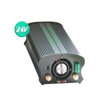 국산 차량용 디지털 인버터 DC24V AC220V 최대 1800W SJ-17024B {밧데리 직결케이블 연결방식}
