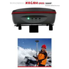 KOLIDA S680S 듀얼 주파수 GNSS 수신기/ 센티미터 레벨 정확도/지형측정 엔지니어링 해양부분 등에 응용/ 다양한 방법으로 VRS 데이터 수집