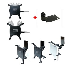 차량 데쉬보드틈새 삽입식 또는 테이프 부착식 겸용 인데쉬거치대 + 9~10인치용 2가지 태블릿거치용 범용홀더셋(IK-2025, IK-2030) 태블릿거치대 9~10인치용 갤럭시탭거치대 아이패드미니거치대 등