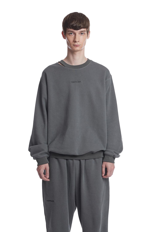 Pigment Ripped Hole Sweatshirt