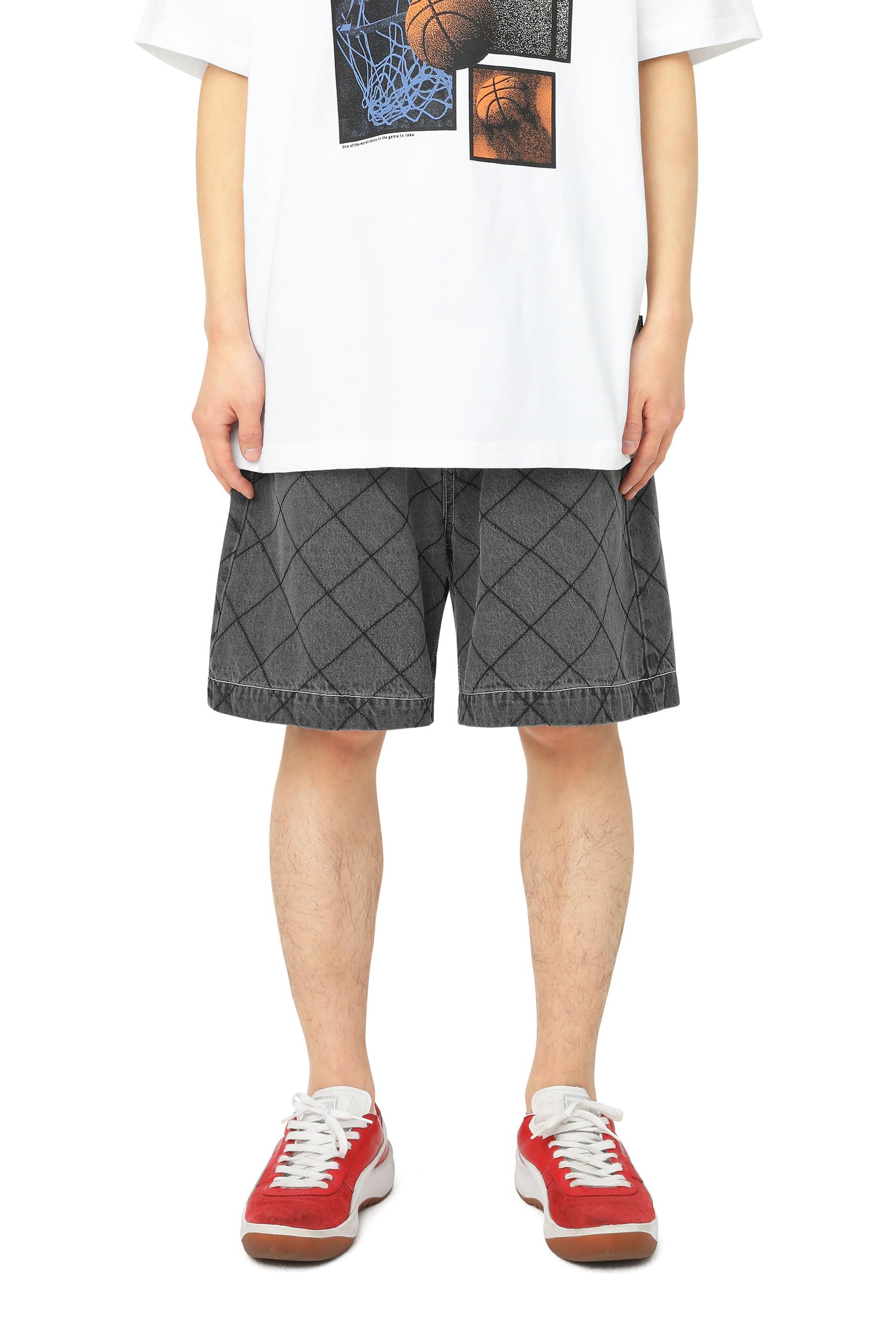Net Denim Shorts Black