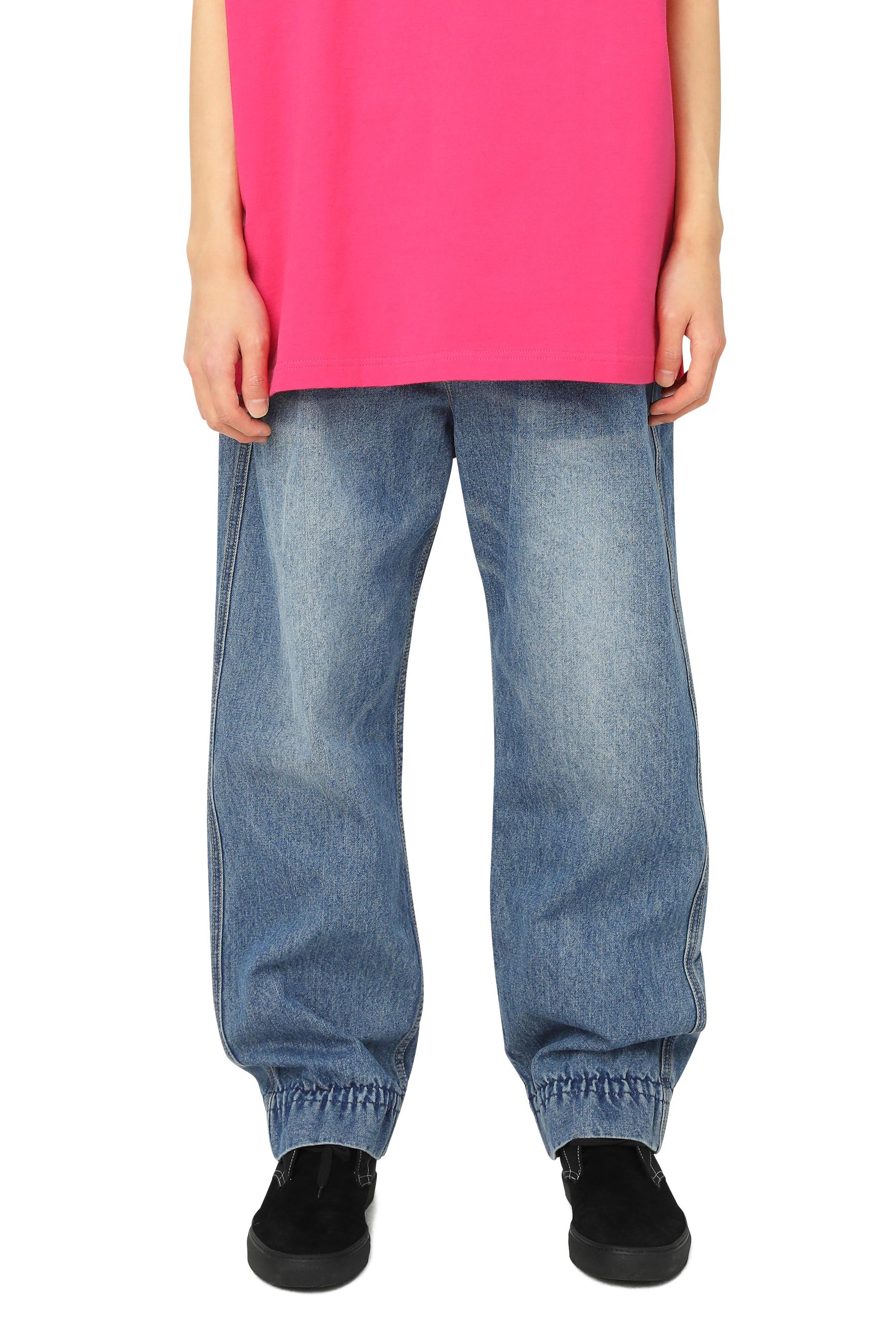Y.E.S Denim Pants Deep Blue