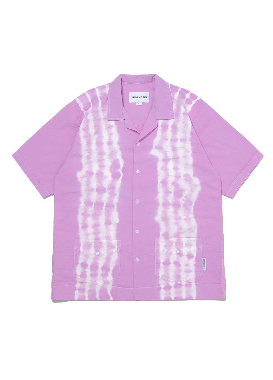 Tie Dyed Aloha Shirts Lilac