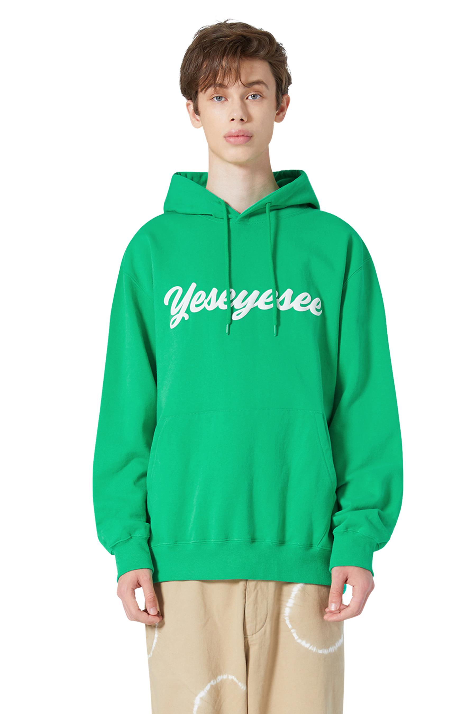Y.E.S Junior Hoodie Green