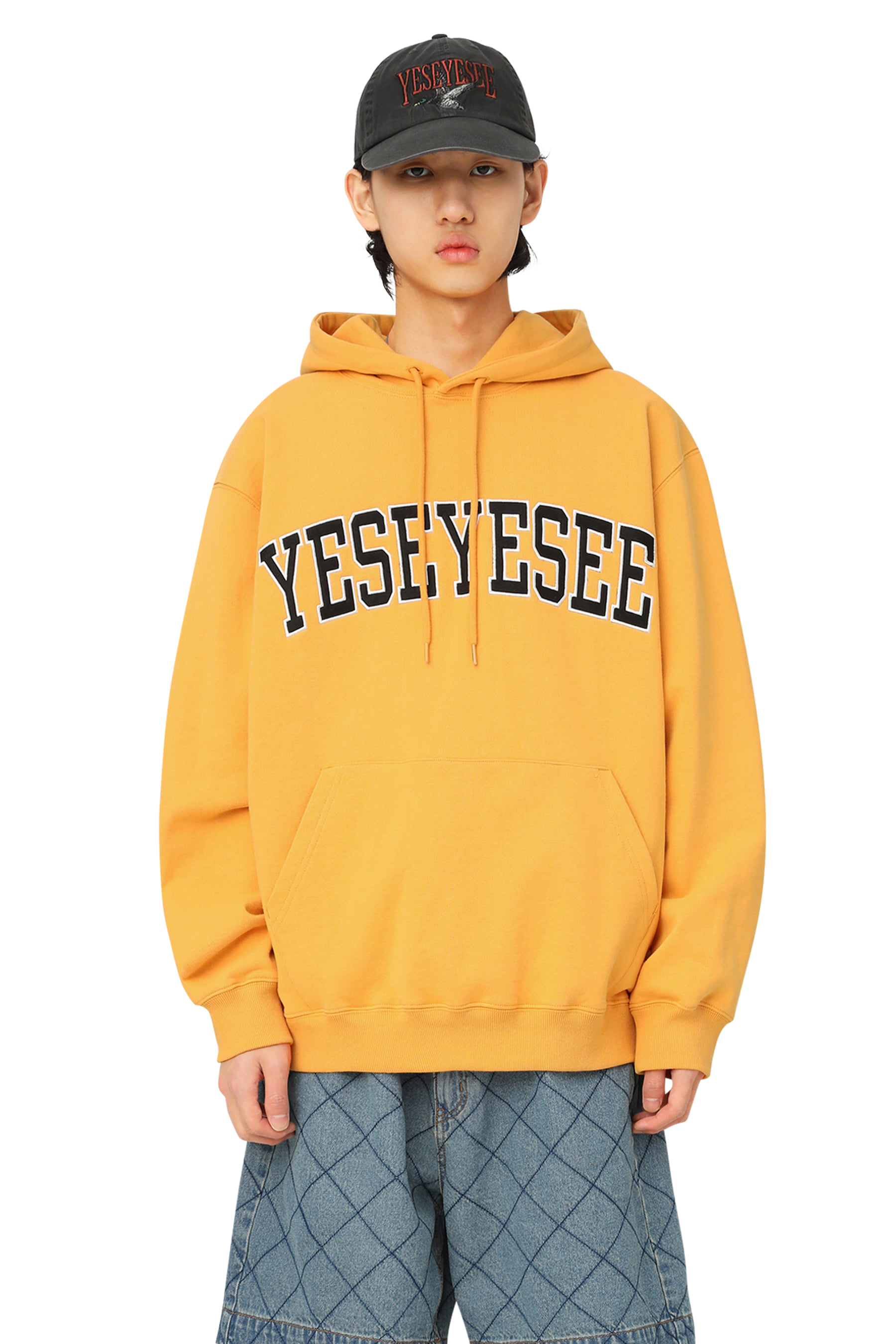 Arch Logo Hoodie Yellow