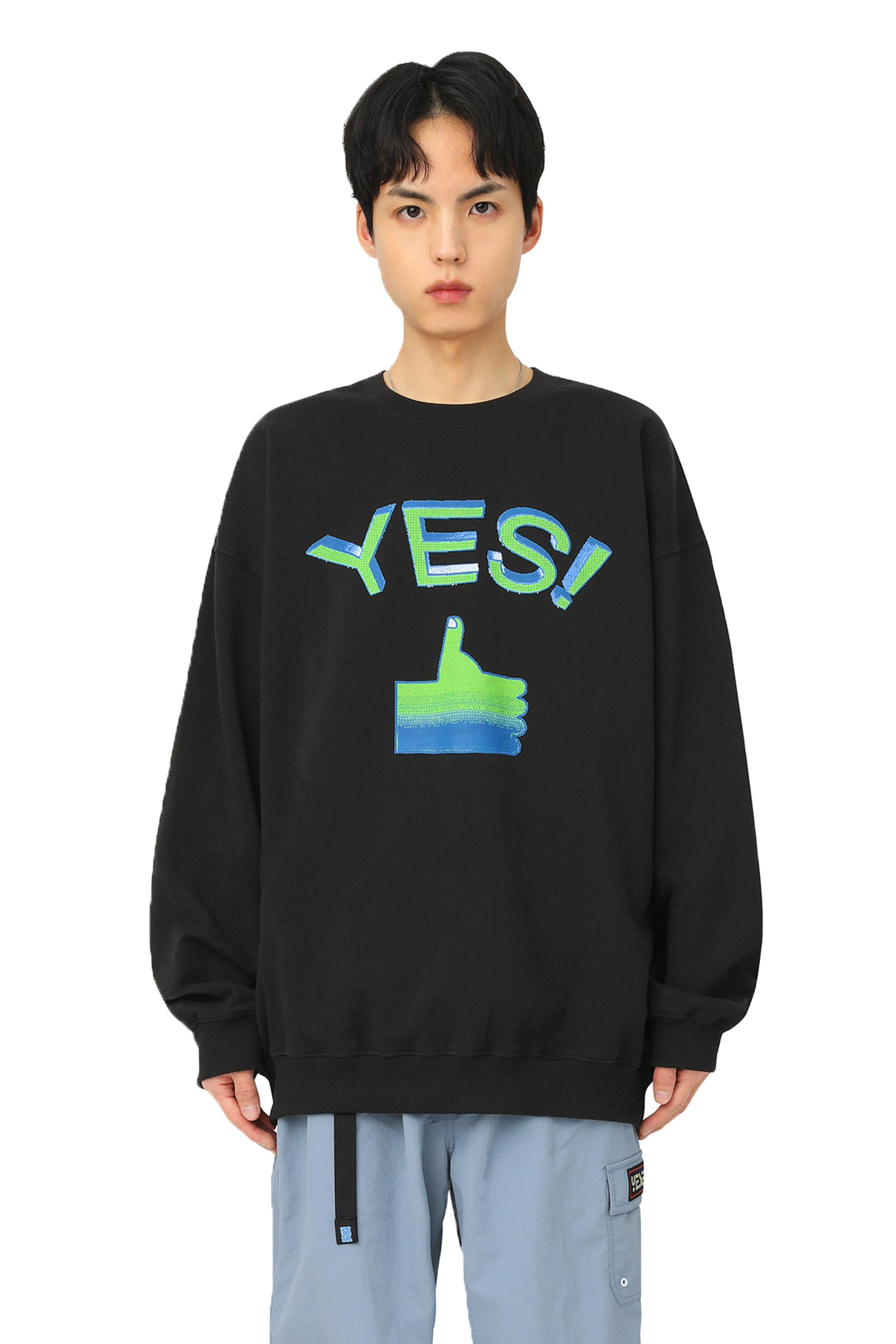 Thumbs up Sweatshirts Black