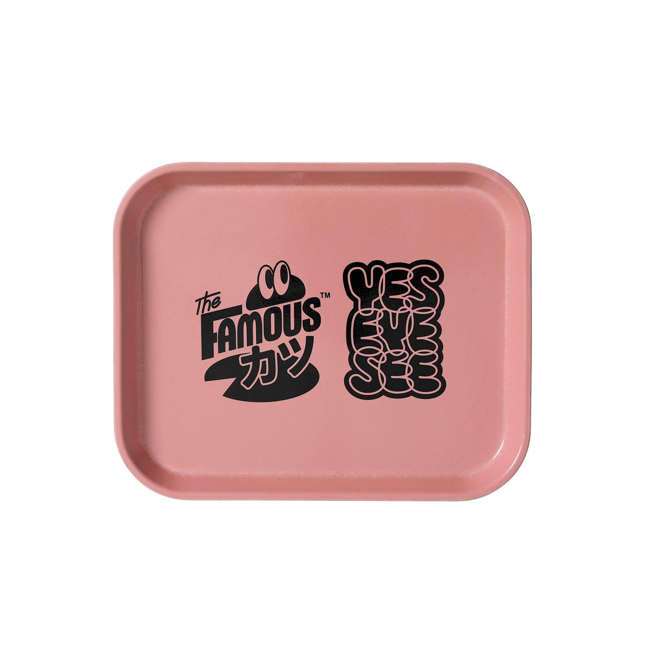 Yes, Famous Katsu!! Mini Tray Pink
