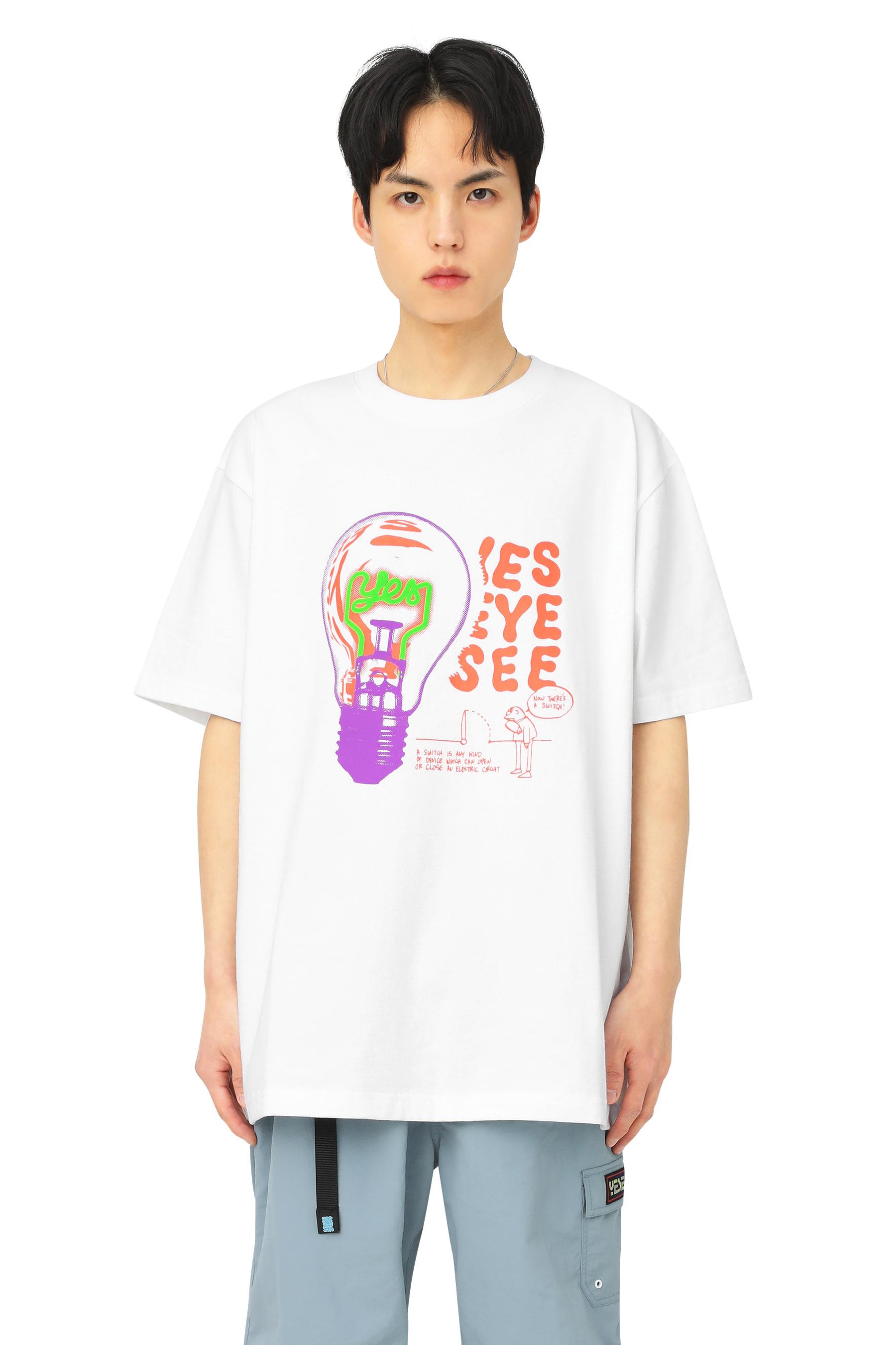 Y.E.S Bulb Tee White