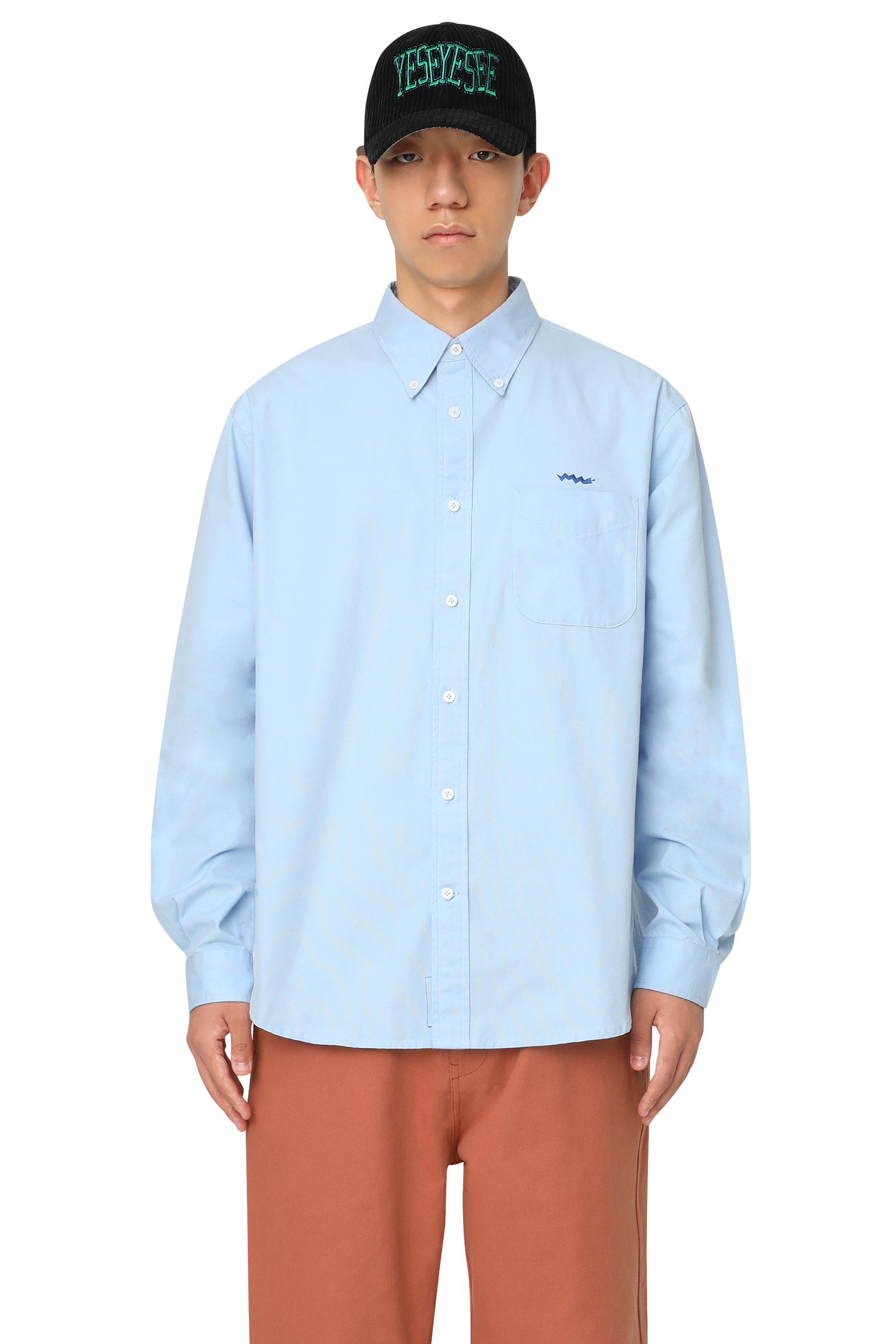 Y.E.S B-D Regular Shirt Light Blue
