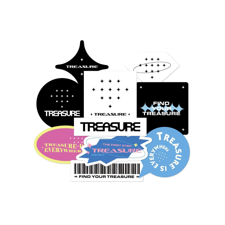 [PATCHMANIA] TREASURE TREASUREMAP STICKER