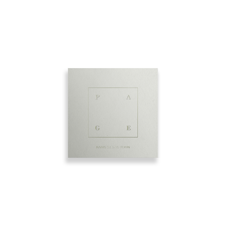 KANG SEUNG YOON 1st FULL ALBUM [PAGE] KiT ALBUM