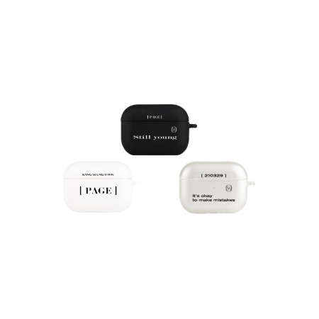 [TRADIT] KANGSEUNGYOON PAGE AIRPODS PRO CASE