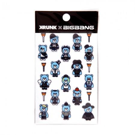 BIGBANG X KRUNK ARTTOY STICKER