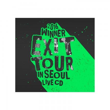 2016 WINNER EXIT TOUR IN SEOUL LIVE CD