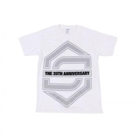 [20th] SECHSKIES 20th ANNIVERSARY T-SHIRTS_WHITE