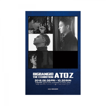 BIGBANG10 THE EXHIBITION: A TO Z POSTER SET