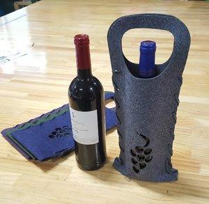 펠트 와인백 와인가방 와인파우치