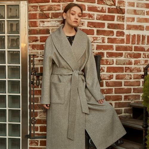 Classic Robe Coat_ Grey