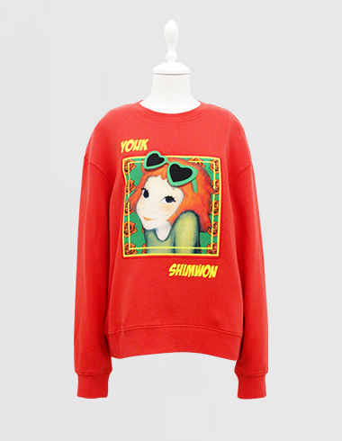 Frame sweat-shirts Red coco