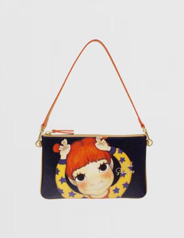 flat strap wallet Gaeddong
