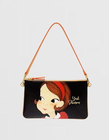 flat strap wallet Ria