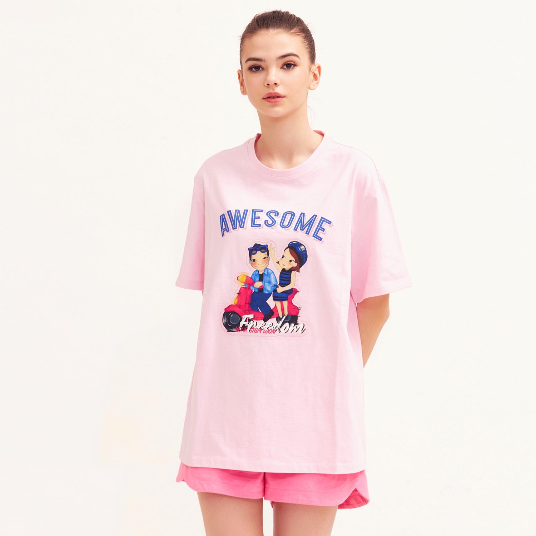 [21S/S NEW] Speeding T-shirts Pink