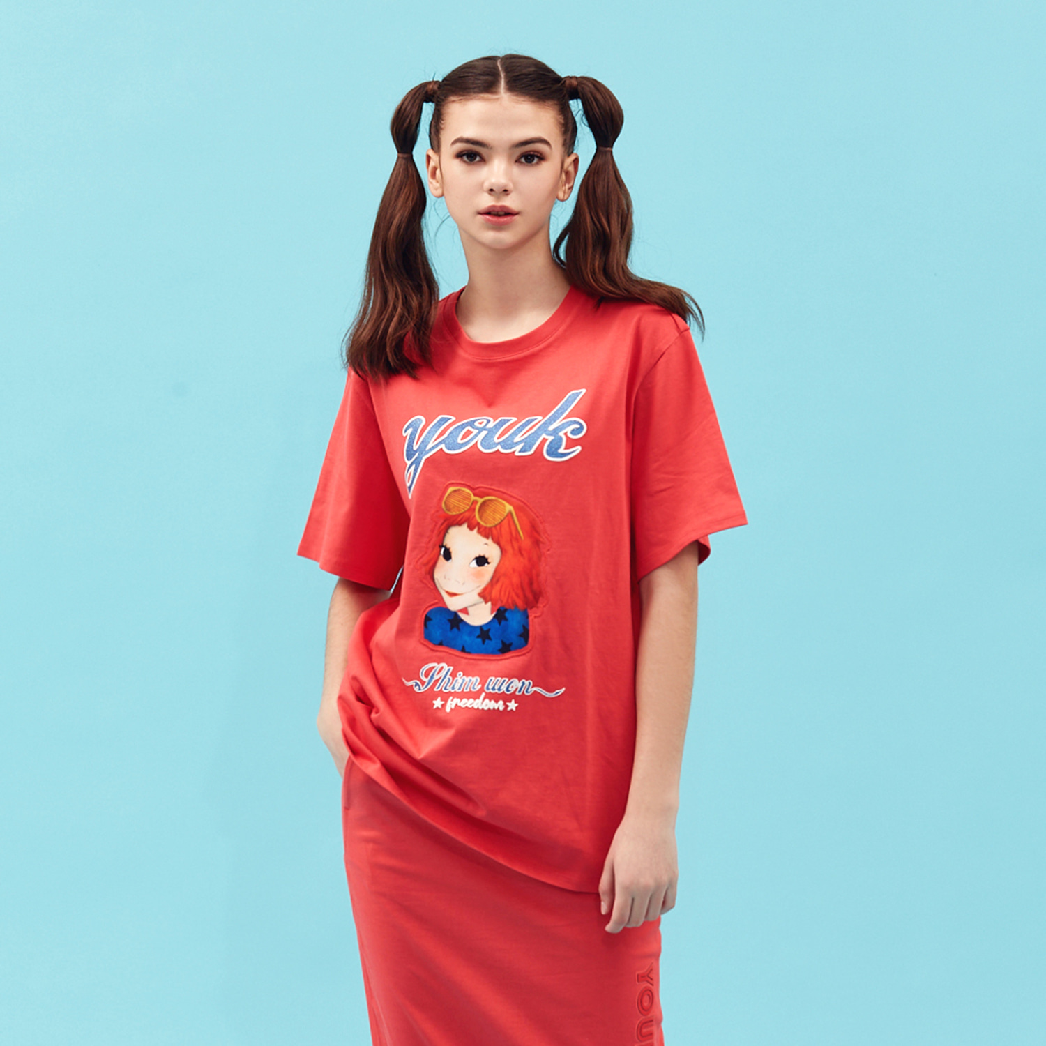 [21S/S NEW] Smart T-shirts Red Coco