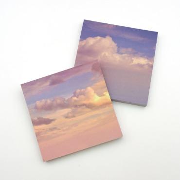 하늘과 구름 떡메모지