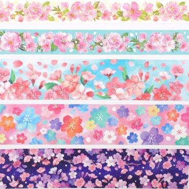 아미파 벚꽃 마스킹테이프 ver2