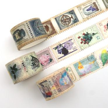 우표 모양 마스킹테이프 ver2