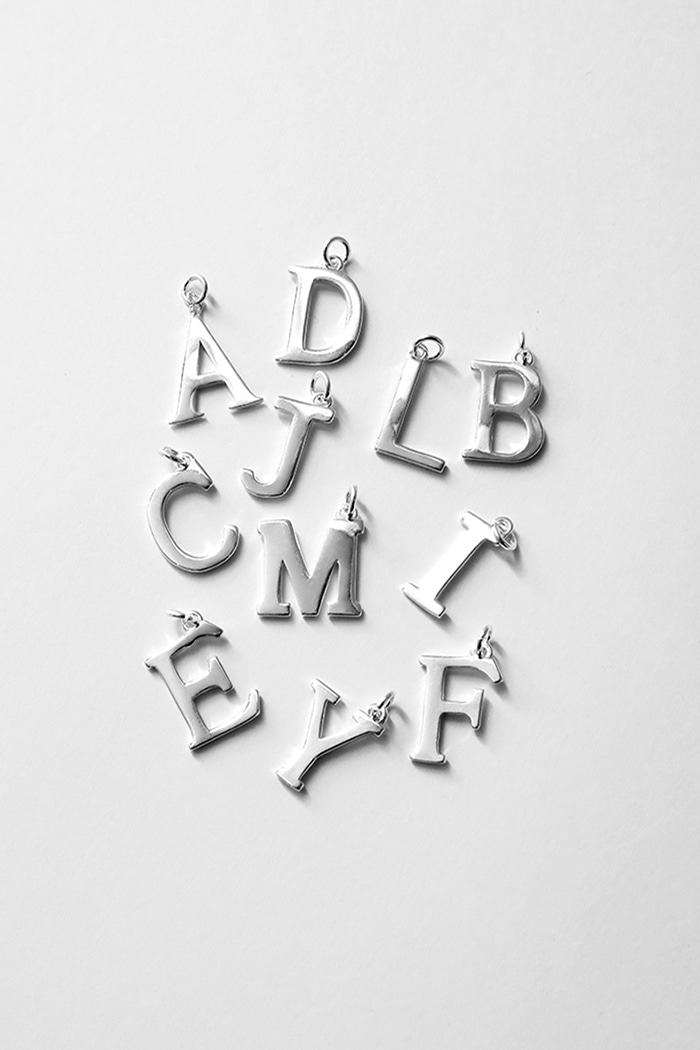 Initials Neckless (925silver) 41