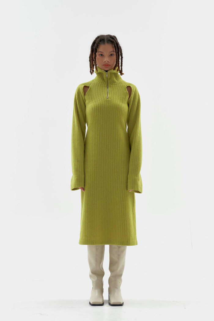 Melly High-neck Dress (3 colors)