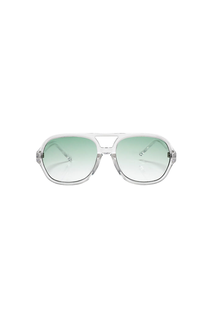 Bowing Glasses Green