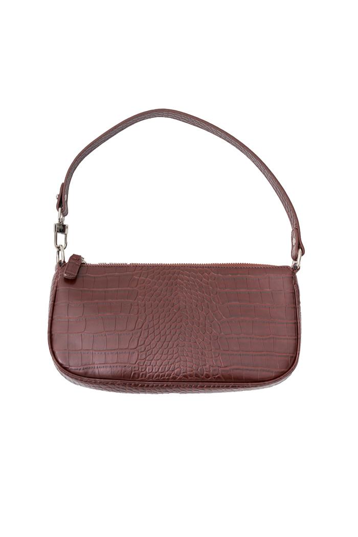 Flat Square Bag Brown